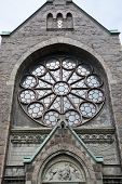 stock photo of neo  - Falkenberg church built in neo - JPG