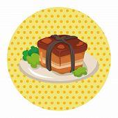 stock photo of chinese menu  - Chinese Food Theme Elements - JPG