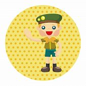 image of boy scouts  - Scout Theme Elements - JPG