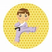 image of taekwondo  - Taekwondo Theme Elements - JPG