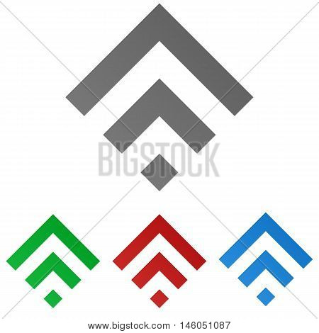 Squared logo vector. Squared icon symbol design template set.
