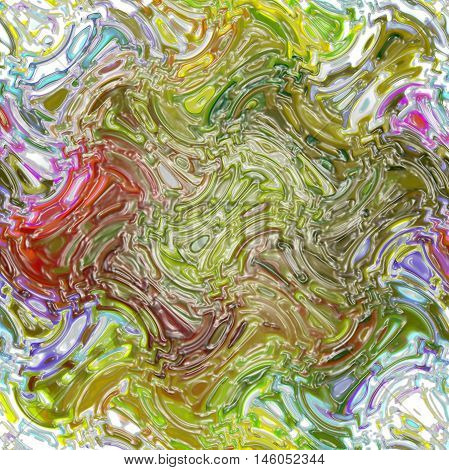 Abstract background of the abstract gradient with cubism,light effect,wave,distortion effect and plastic wrap effect