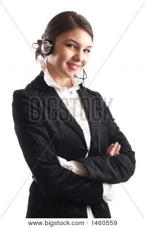 Bela representante do cliente