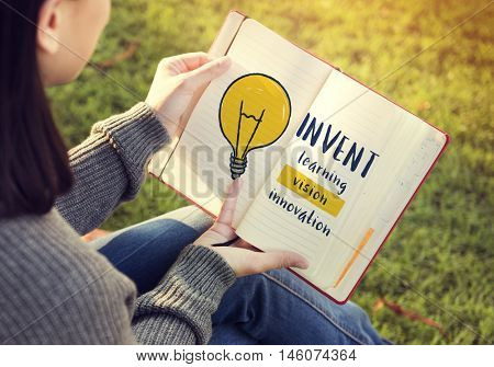 Creative Think Invention Inspiration Concept