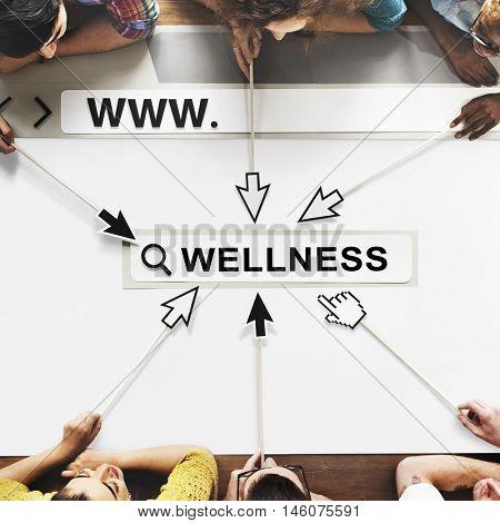 Wellness Positivity Mindset Thinking Concept