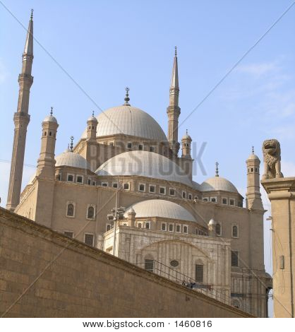 Mosque Of Mohammed Ali, Located In Saladin Citadel, Cairo, Egypt