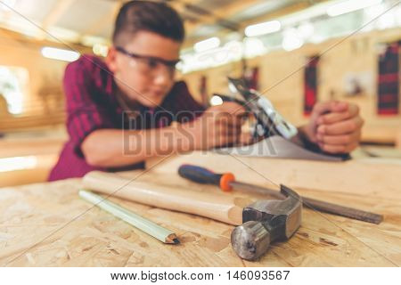 Handsome Young Carpenter
