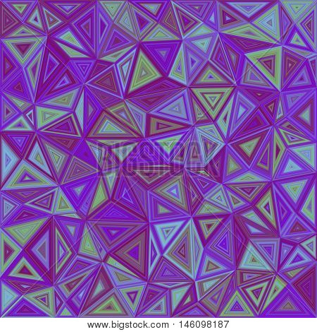 Abstract irregular triangle mosaic tile background design