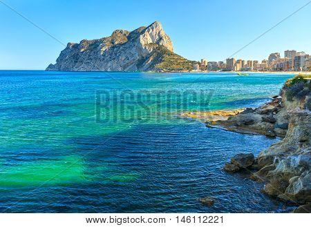 Calp Summer Coast, Spain.