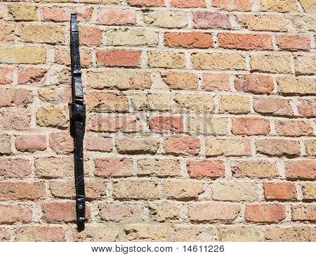 Brick wall, shallow depth of field