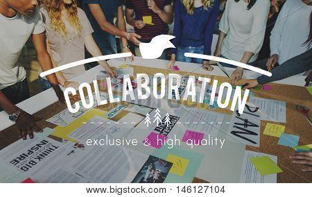 Teamwork Collaboration Togetherness Association Concept