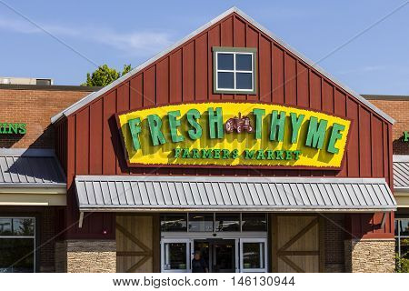 Indianapolis - Circa September 2016: Fresh Thyme Farmers Market. Fresh Thyme Offers Fresh and Healthy Food at Amazing Values IV
