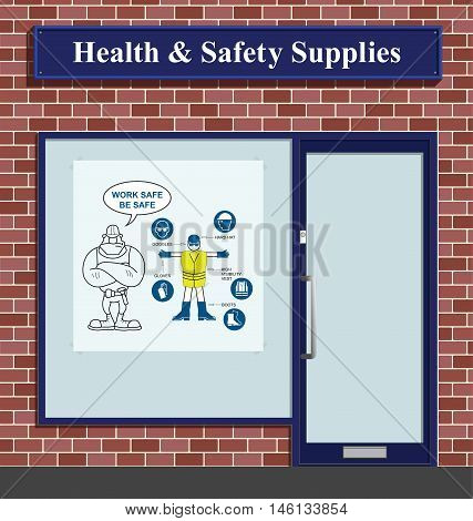 Construction health and safety personal protection equipment supplies shop