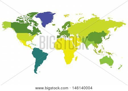earth map icon colour australia africa eurasia paper