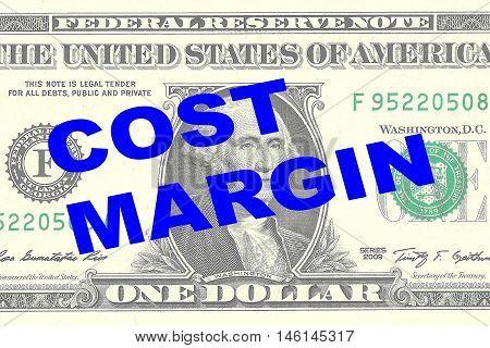 Cost Margin Concept