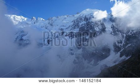 Main Caucasus ridge, Bezengi area, Caucasus, Russia