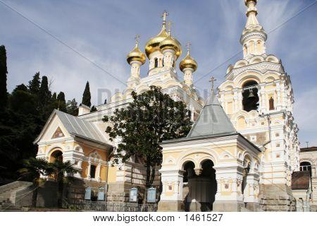 Yalta  Alexander Nevsky Cathedral