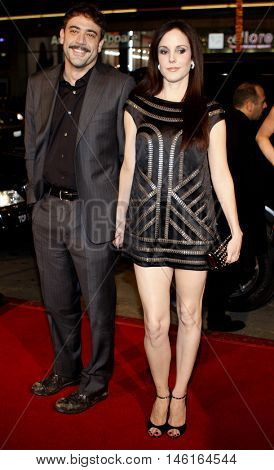 Mary-Louise Parker and Jeffrey Dean Morgan at the World premiere of 'P.S. I Love You' held at the Grauman's Chinese Theater in Hollywood, USA on December 9, 2007.