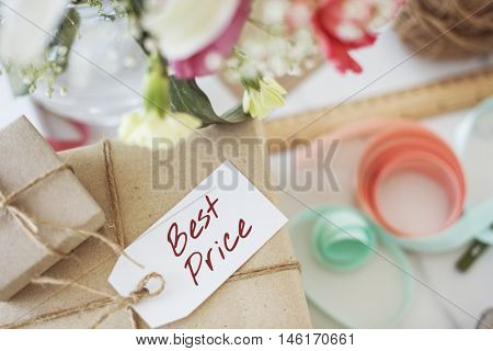 Best Price Offer Promotion Commerce Marketing Concept