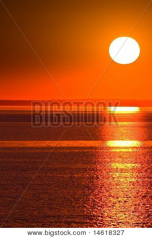 Grandeza de céus sol