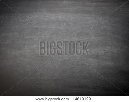 Empty blackboard using as background with space fore text or image
