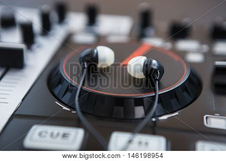 Professional Sound Mixing Dj Midi Controller Turntable