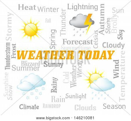 Weather Today Shows Outlook And Forecast Now