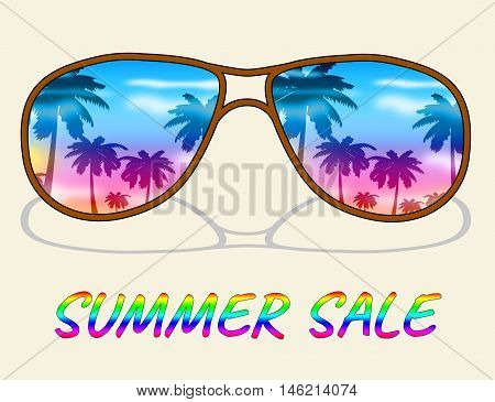 Summer Sale Represents Hot Offers And Savings