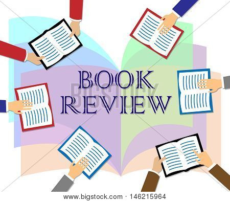 Book Review Represents Reviewing Fiction And Knowledge