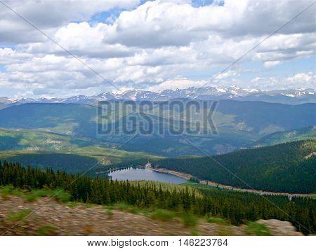 Pikes Peak Scene