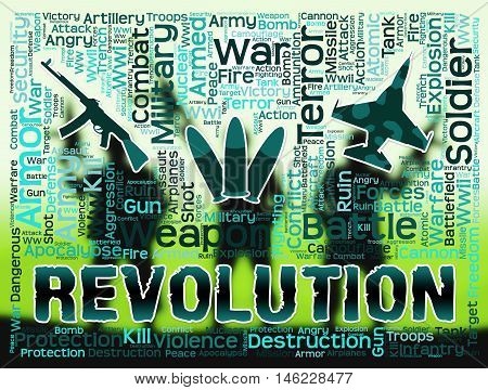 Revolution Words Means Regime Change Or Coup