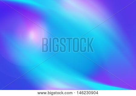 Abstract background with smooth light lines and spots in blue and pink tones. Hi-resolution soft background.