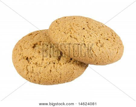 Two Oatmeal Cookies