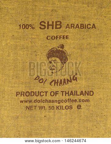 CHIANGRAI THAILAND - JULY 20 : Brand coffee
