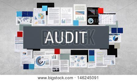 Audit Compliance Evaluation Financial Statement Concept