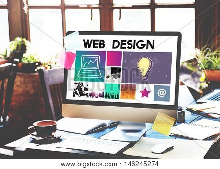 Website Design UI Software Media WWW Concept