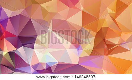 Colorful swirl rainbow polygon background. Colorful abstract vector. Abstract rainbow color Triangle Geometrical Background, Rainbow polygon swirl design. Rainbow Colorful swirl rainbow polygon