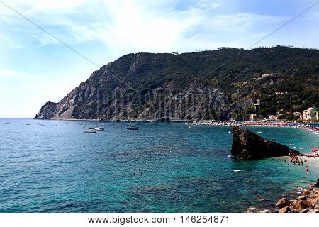 View Of The Gulf Of Monterosso B