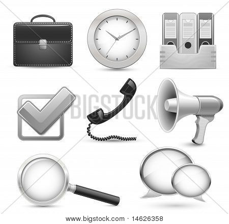 Icons for business web site