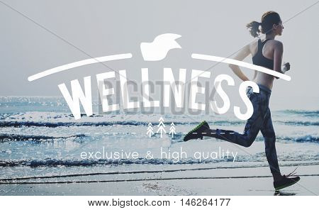Wellness Wellbeing Recreation Energy Enjoying Concept