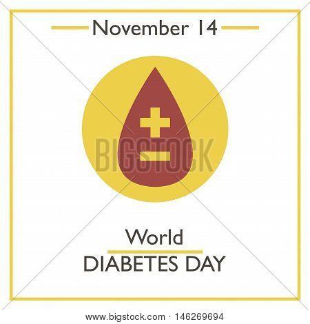 World Diabetes Day. November 14