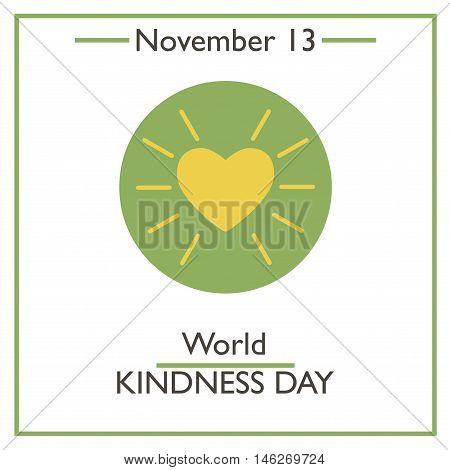 World Kindness Day. November 13