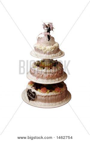 Three-Tier Wedding Pie