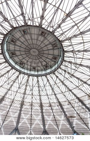 Abstract Of Glass Dome With Decorations