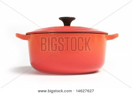 cast iron cooking pot