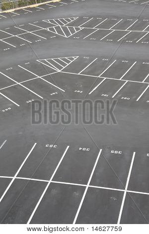 parking lot corner section
