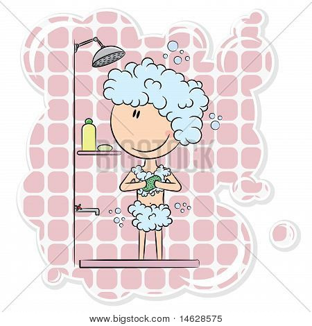 Girl In The Shower