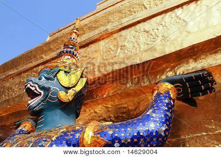 Sculpture In Thai Temple
