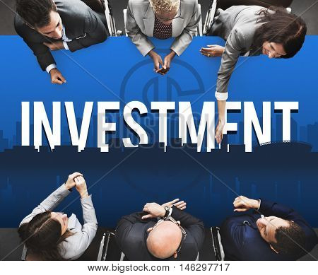 Investment Business Financial Risk Management Concept