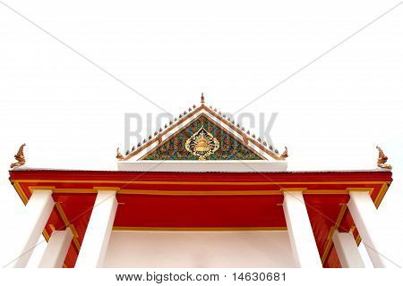 Thailand Temple Isolate